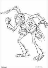 A Bug's Life coloring page (011)