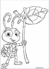 A Bug's Life coloring page (015)