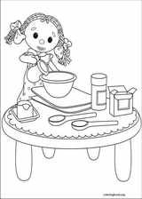 Andy Pandy coloring page (003)