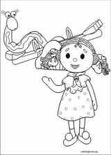 Andy Pandy coloring page (005)
