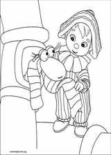 Andy Pandy coloring page (024)