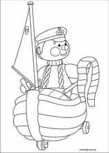 Andy Pandy coloring page (025)