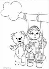 Andy Pandy coloring page (028)