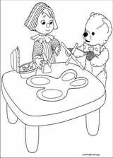 Andy Pandy coloring page (038)