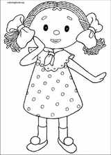 Andy Pandy coloring page (050)