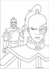 Avatar, The Last Airbender coloring page (003)