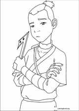 Avatar, The Last Airbender coloring page (006)
