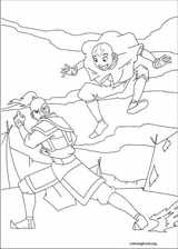 Avatar, The Last Airbender coloring page (007)