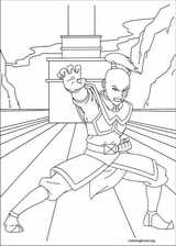 Avatar, The Last Airbender coloring page (016)