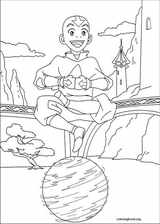Avatar, The Last Airbender coloring page (018)