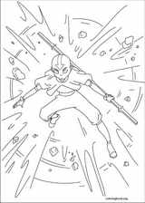 Avatar, The Last Airbender coloring page (029)