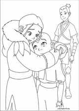 Avatar, The Last Airbender coloring page (042)