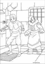 Avatar, The Last Airbender coloring page (043)
