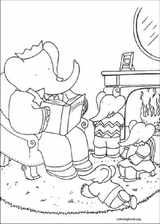 Babar coloring page (017)