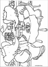 Babar coloring page (019)