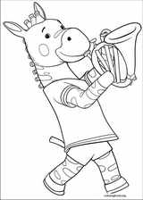 Babar And The Adventures Of Badou coloring page (009)