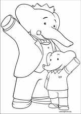 Babar And The Adventures Of Badou coloring page (021)
