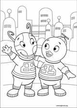 Backyardigans coloring page (029)
