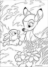 Bambi coloring page (007)