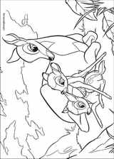 Bambi coloring page (008)