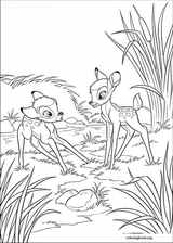 Bambi coloring page (012)