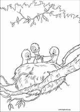 Bambi coloring page (023)