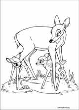 Bambi coloring page (027)