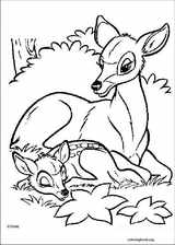 Bambi coloring page (034)