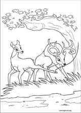 Bambi 2 coloring page (005)