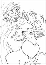 Bambi 2 coloring page (055)