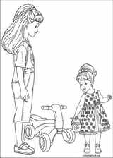 Barbie coloring page (013)