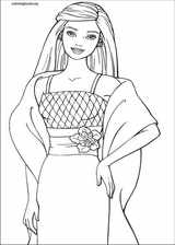 Barbie coloring page (017)
