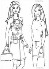 Barbie coloring page (025)