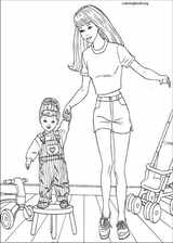 Barbie coloring page (034)