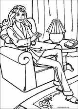 Barbie coloring page (038)