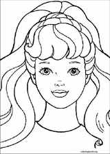 Barbie coloring page (039)
