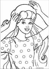 Barbie coloring page (042)