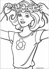 Barbie coloring page (043)