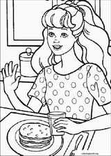 Barbie coloring page (045)
