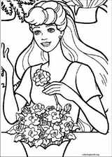 Barbie coloring page (048)