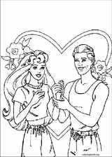 Barbie coloring page (053)