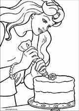 Barbie coloring page (063)