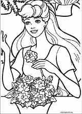 Barbie coloring page (069)