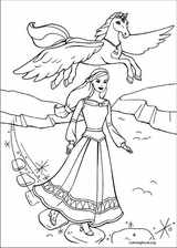Barbie And The Magic Of Pegasus coloring page (010)