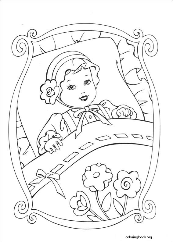 Barbie As The Princess And The Pauper Coloring Page 025 Coloringbook Org