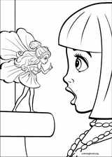 Barbie Presents: Thumbelina coloring page (002)
