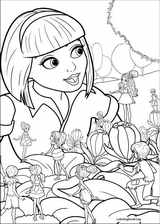 Barbie Presents: Thumbelina coloring page (005)