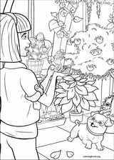 Barbie Presents: Thumbelina coloring page (006)
