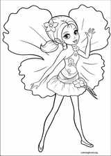 Barbie Presents: Thumbelina coloring page (010)