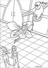 Barbie Presents: Thumbelina coloring page (011)